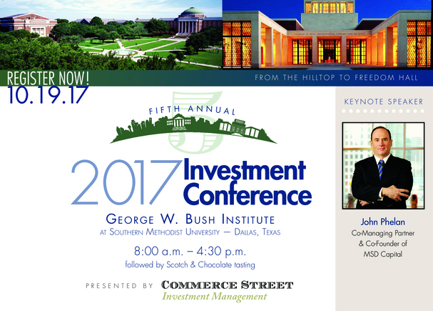Commerce Street Investment Management Invitation